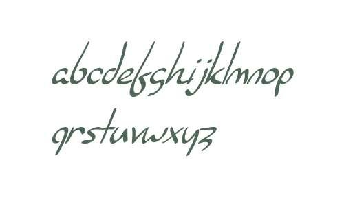 SF Burlington Script Italic V2 V1