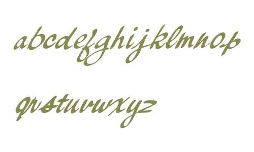 Palisade W00 Bold Italic