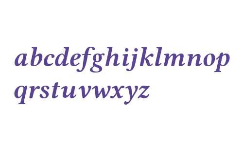 Linux Libertine O Bold Italic