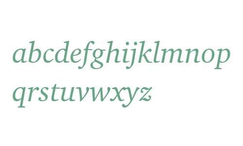 Charter ITC W04 Italic