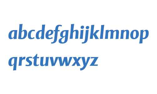 Mentor Sans W04 Bold Italic