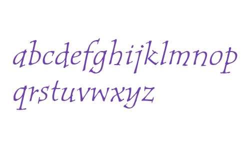 Tempus ITC Std Italic