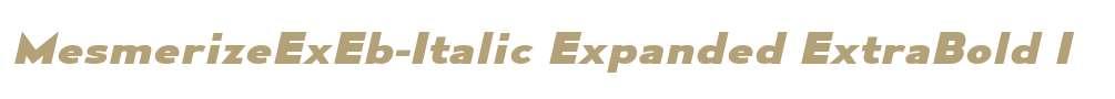 MesmerizeExEb-Italic