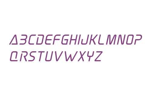 Elite Danger Bold Italic