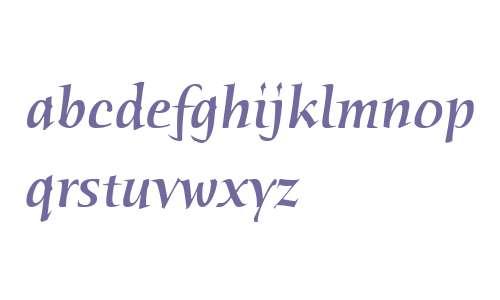 Humana Serif ITC W04 Medium It