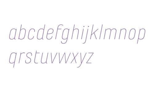 Marianina Wd FY W03 Thin Italic