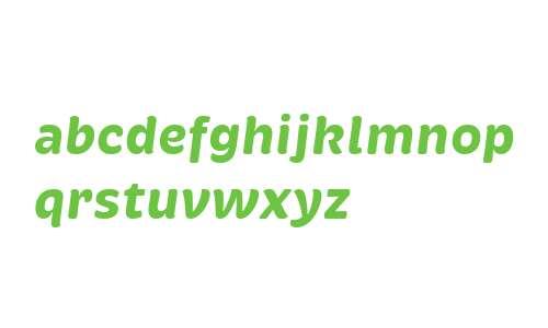 Brevia W02 Bold Italic