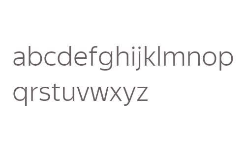 Yandex Sans Text Light