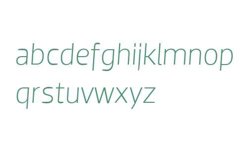 Dobra W04 Light Italic