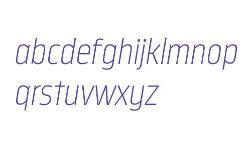 Nordikka W00 ExtraLight Italic