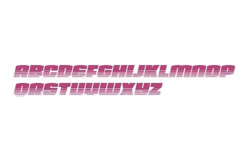 Team Galaxy Twotone Italic