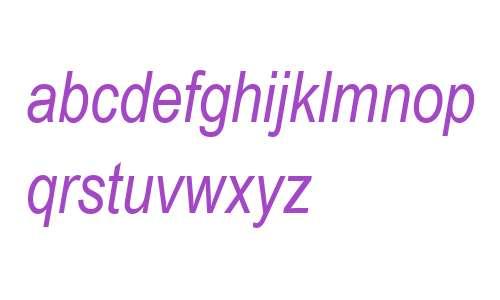 Arial Narrow MT W04 Italic