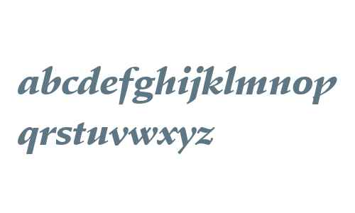 SchneidlerAmaBla W03 Italic