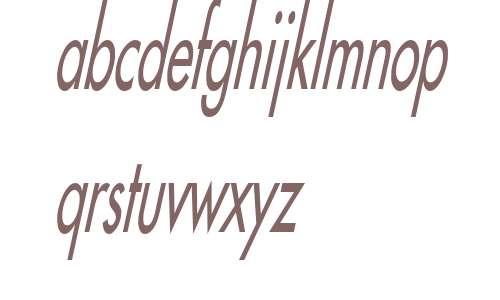 Fusi Thin Italic