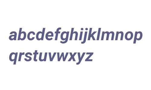 Roboto Bold Italic V2