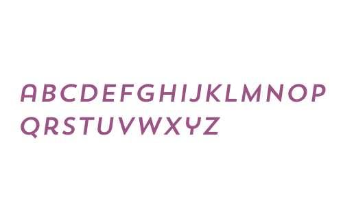 Trend Sans W00 One Italic