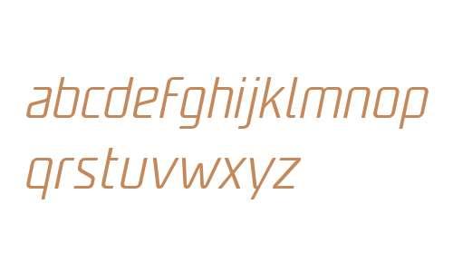 Unicod Sans W03 Light Italic