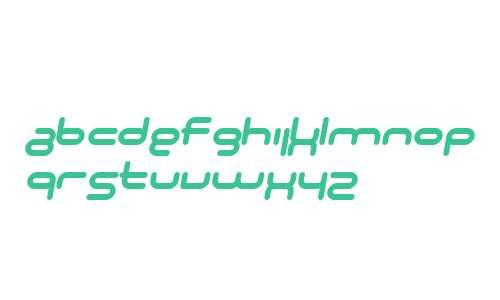 SF Technodelight NS Bold Italic V1 V2