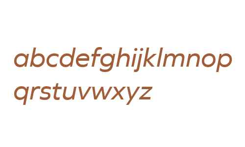 Graphie W01 Italic