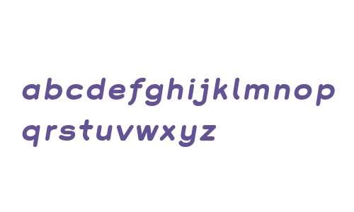 Grover W01 Bold Italic