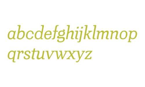 Minernil W00 Italic