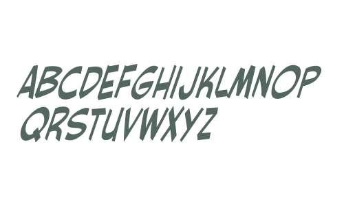 CCRedStar W00 Italic
