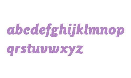 Goudy Sans* Black Italic