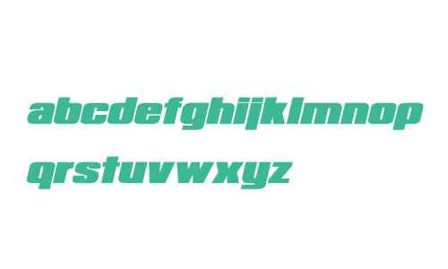 Republica Minor Bold Italic