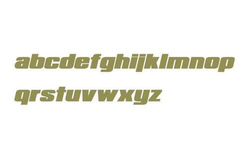 Republica Minor Bold Italic