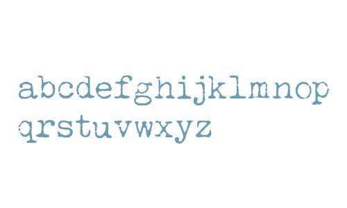 LUCKY TYPEWRITER V1