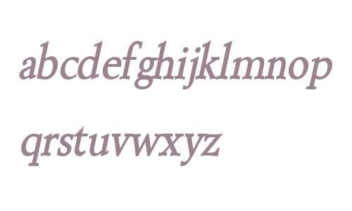 Revive 8 Condensed BoldItalic