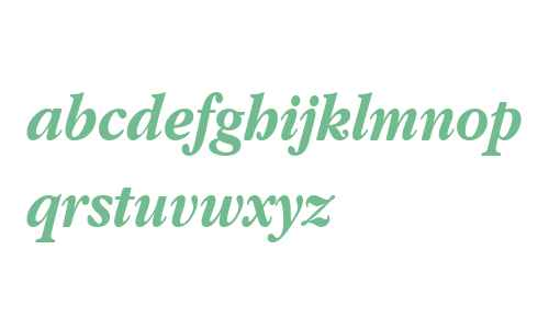 Apple Garamond Bold Italic BT