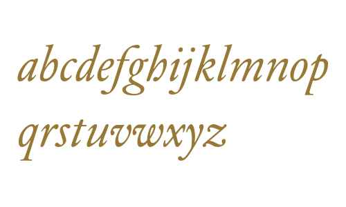 DTLElzevirT-Italic