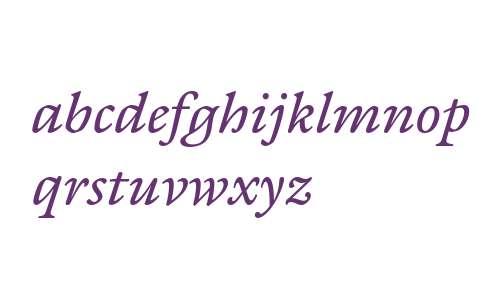 ITC Galliard ET W03 Italic