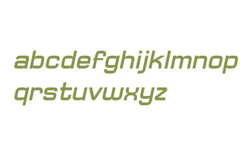 Typo Square Bold Italic Demo