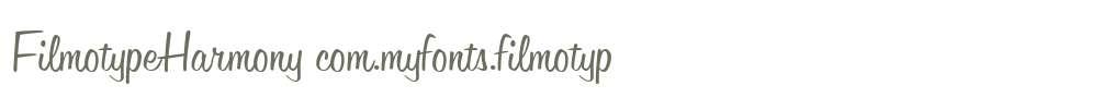 FilmotypeHarmony