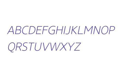 Core Sans NR W01 SC 25 XLt It