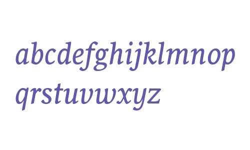 Sirba Italic
