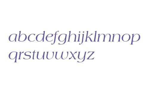 Americana W03 Italic