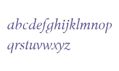 Tibere OT W03 Light Italic