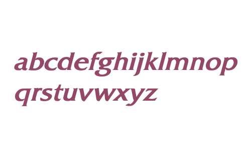 Whitethorning Bold Italic