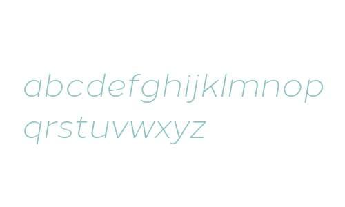 Loew Light Italic