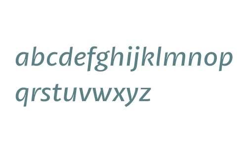 Petala W03 Italic