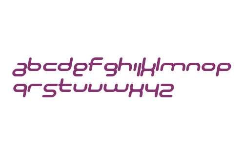 SF Technodelight NS Bold Italic V2 V2
