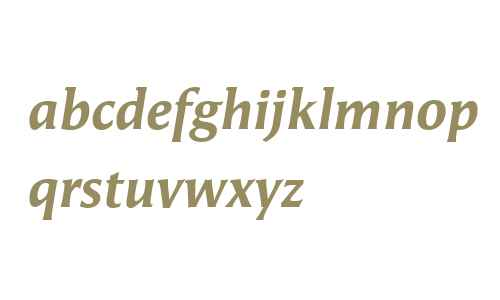 Angie Offc W02 Extrabold Italic