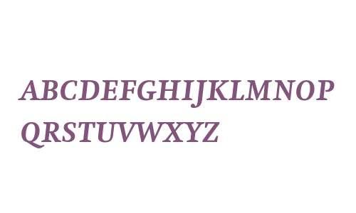 Swift SCOsF Bold Italic