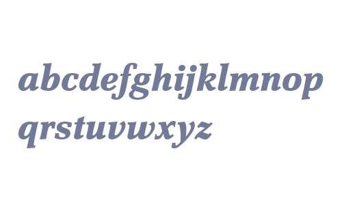 Scherzo W04 Bold Italic