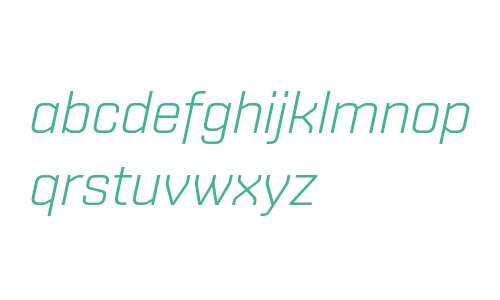 Shentox W04 Light Italic