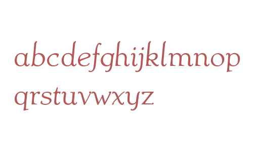 Ablati Oldstyle W01 Italic