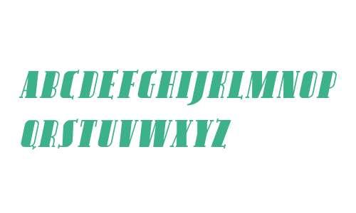 Avondale SC Italic